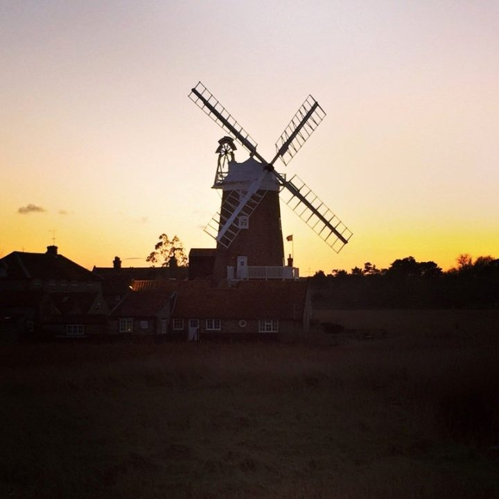 Cley Windmill, Norfolk, Unique hotels in the UK