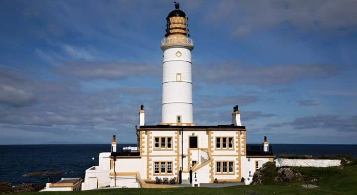 Corsewall Lighthouse Hotel, Unique hotels in the UK