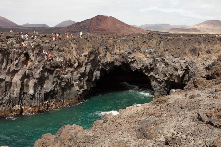 Lanzarote Los Hervideros, Canary islands, Spain