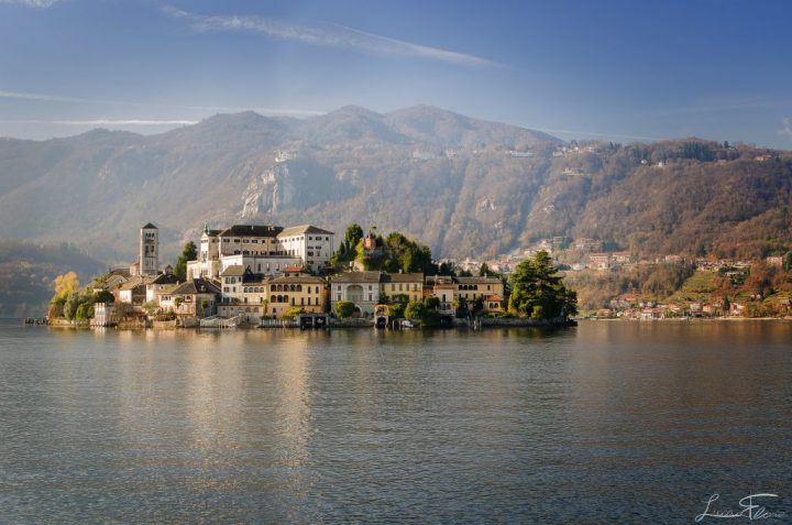 Orta lake with San Giulio island, Best places to visit in Italy