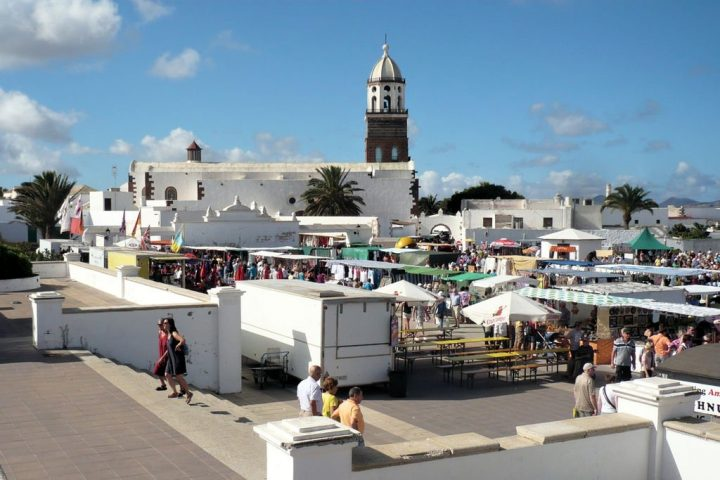 Teguise market, Lanzarote holidays, Canary Islands, Spain