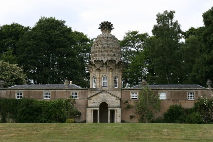 The Dunmore Pineapple, Unique hotels in the UK