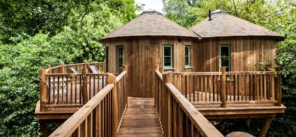 The Treehouse at Harptree Court - Somerset, Unique hotels in the UK