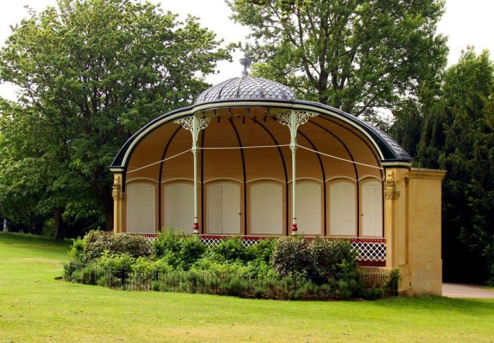 Bandstand in Royal Victoria Park, Things to do in Bath, England, UK