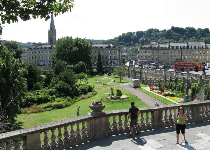 Parade gardens, Bath, Things to do in Bath, England, UK