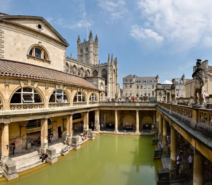 Roman baths, Things to do in Bath, England, UK