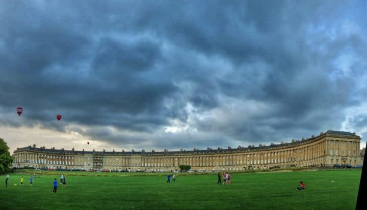 The Royal Crescent, Things to do in Bath, England, UK