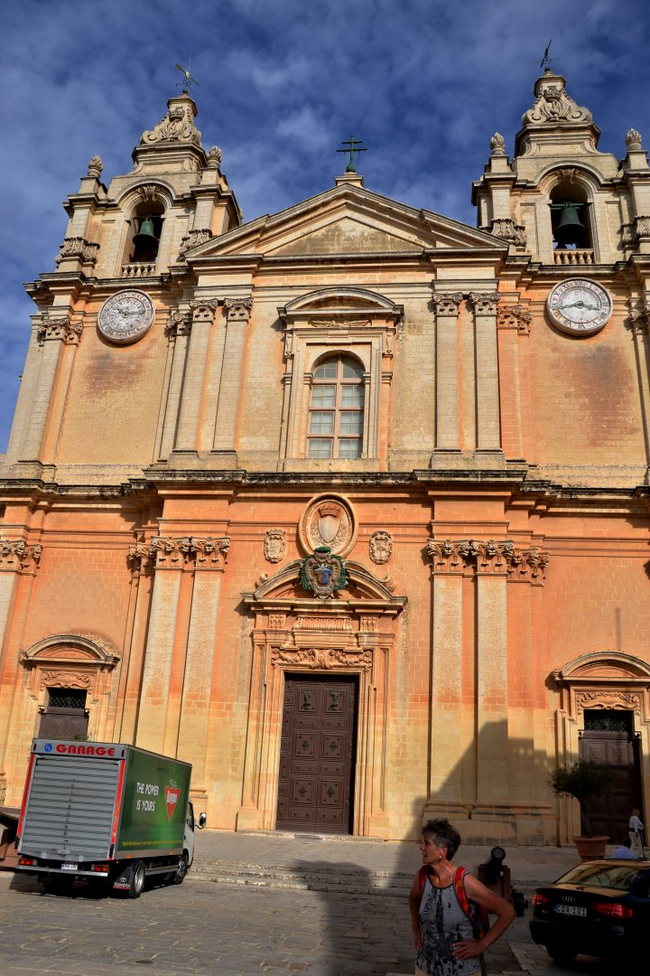 Mdina cathedral, Places to visit in Malta