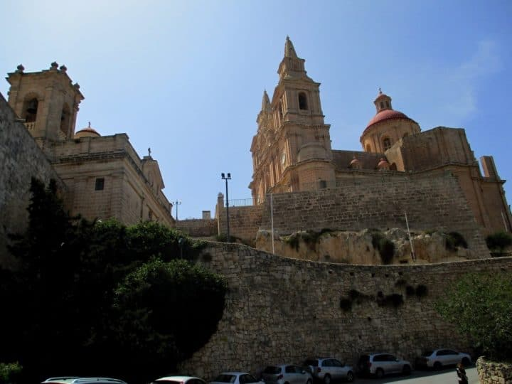 Mellieha church, Places to visit in Malta