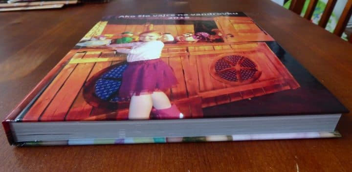 Hard cover of photobook from Saal Digital