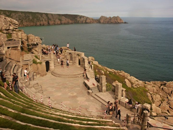 Minack Theatre, Cornwall Family Holidays, UK
