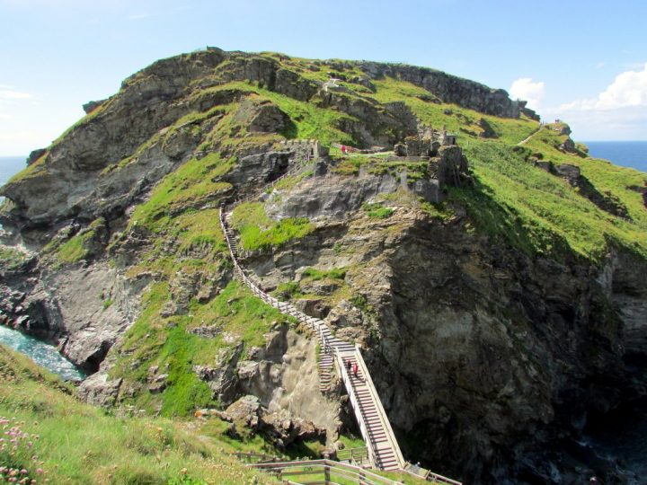 Tintagel Castle, Cornwall Family Holidays, UK