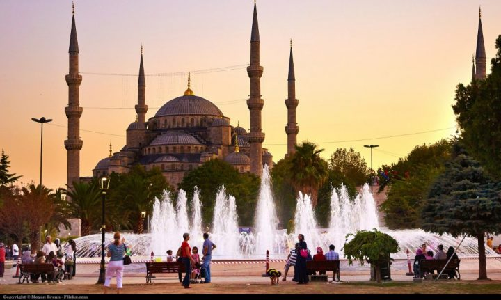 Blue Mosque, Istanbul, Turkey, Beautiful buildings in Eastern Europe