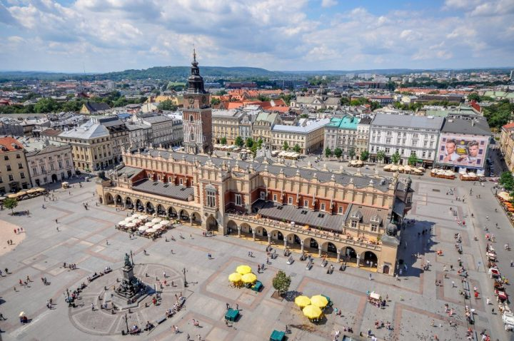 Cloth Hall, Krakow, Poland, Beautiful buildings in Eastern Europe