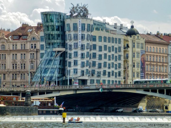Dancing House, Prague, Czech Republic, Beautiful buildings in Eastern Europe