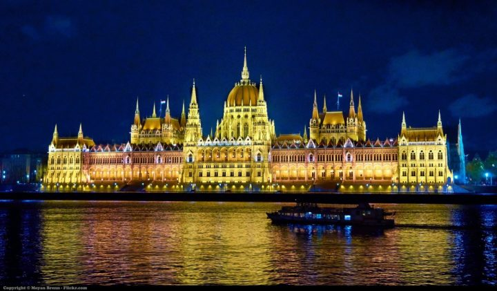 Parliament Building, Budapest, Hungary, Beautiful buildings in Eastern Europe