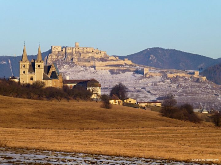Spiš castle in Slovakia, Beautiful buildings in Eastern Europe