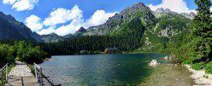Popradske Pleso glacial lake, High Tatras National Park, Slovakia - 1