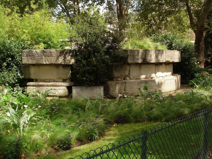 Remaining stones of the Bastille, Paris off the Beaten Track, France