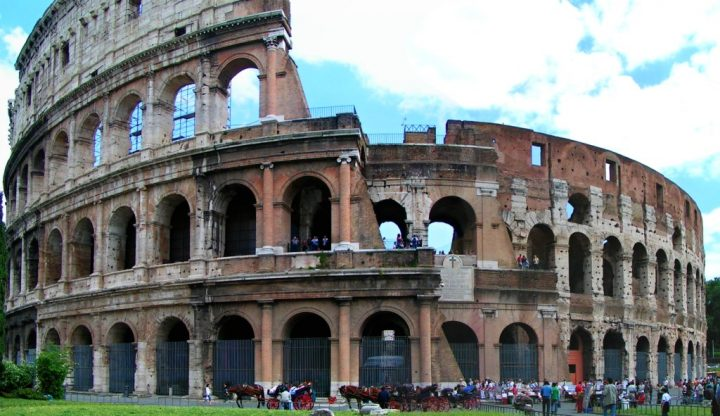 Visit the Roman Colosseum, one of Rome's most iconic sites