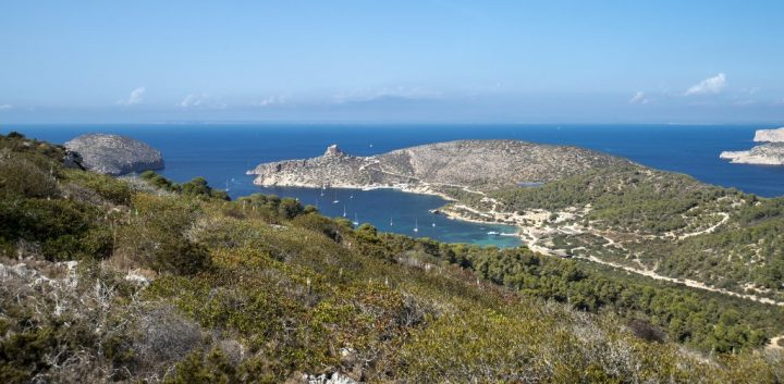 Cabrera - Penyal Blanc, Balearic Islands, Spain