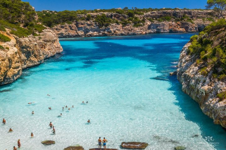 Caló des Moro, Mallorca, Balearic Islands, Spain