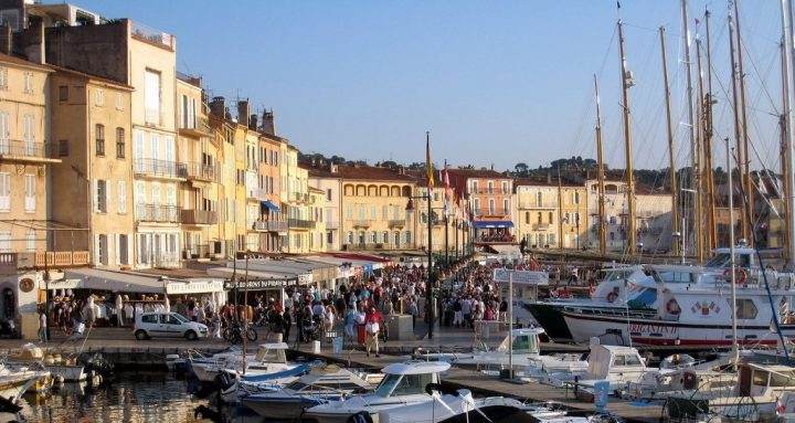 Yachts in St. Tropez, France