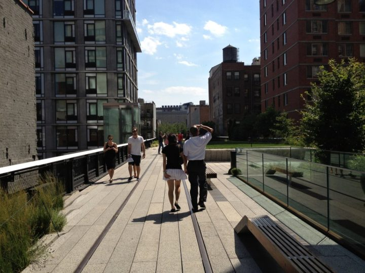 High Line, New York things, USA