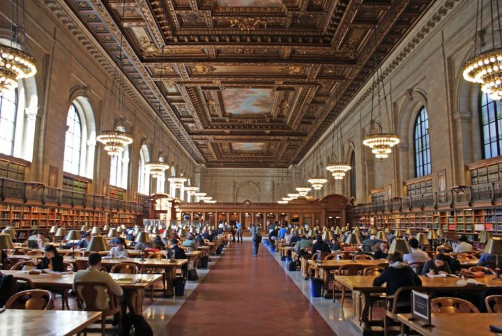 New York Public Library, New York Things, USA