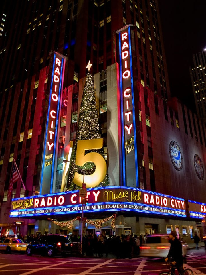 Radio city music hall, Things to do in NYC, USA