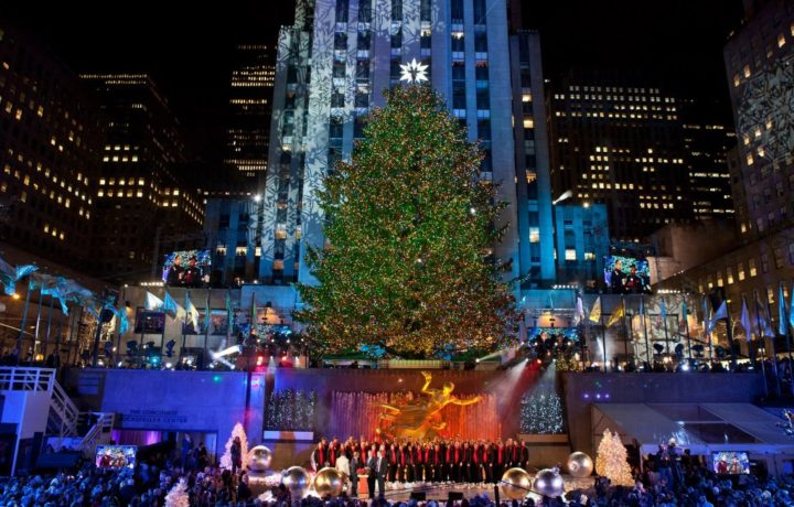 Rockefeller Center Christmas Tree Lighting, Things to do in NYC, USA