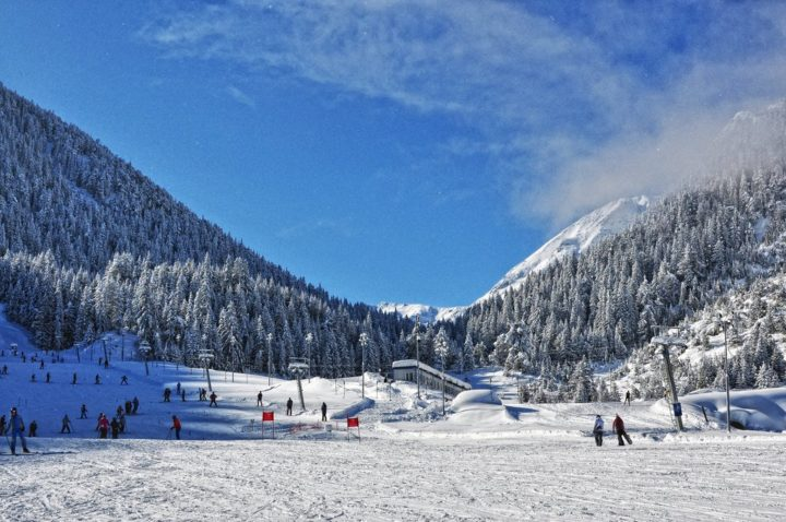 Bansko ski resort in Bulgaria
