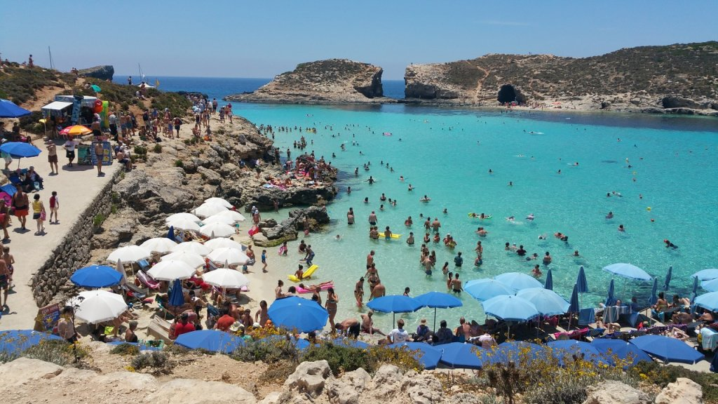 Comino island – The Short on the Tranquil Maltese island of Comino