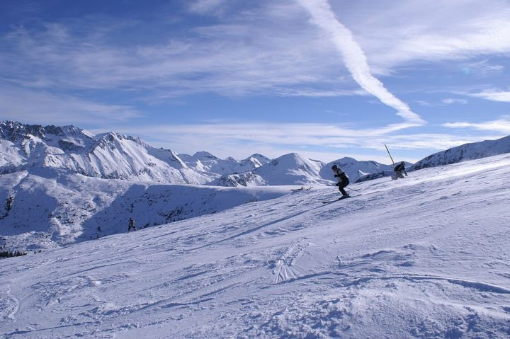 Skiing in Bansko, Bulgaria