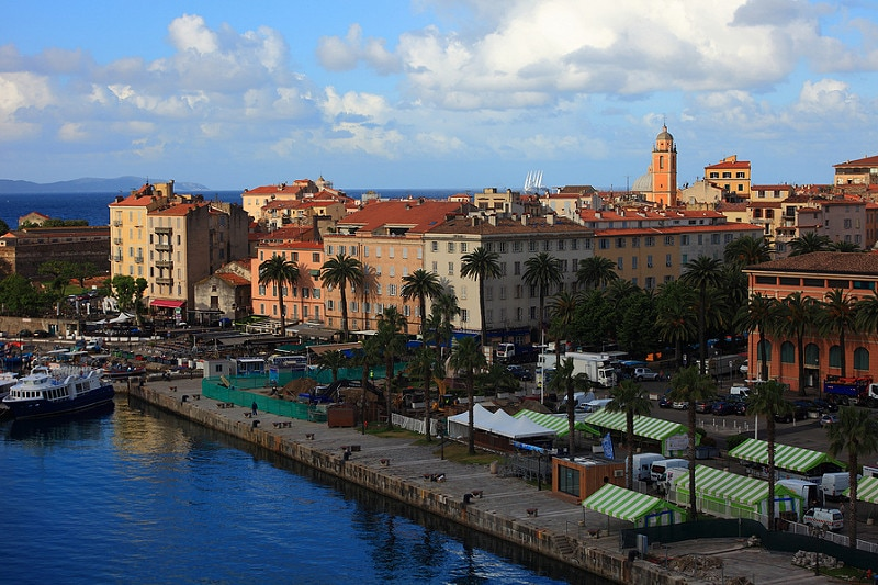 Ajaccio, best area to stay in Corsica