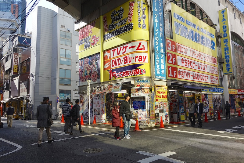 Akihabara, best area to stay in Tokyo