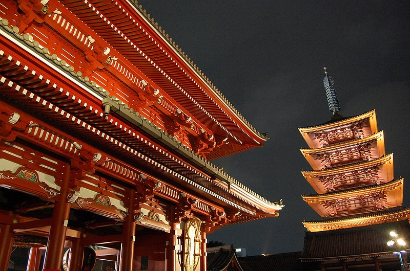 Asakusa, best area to stay in Tokyo