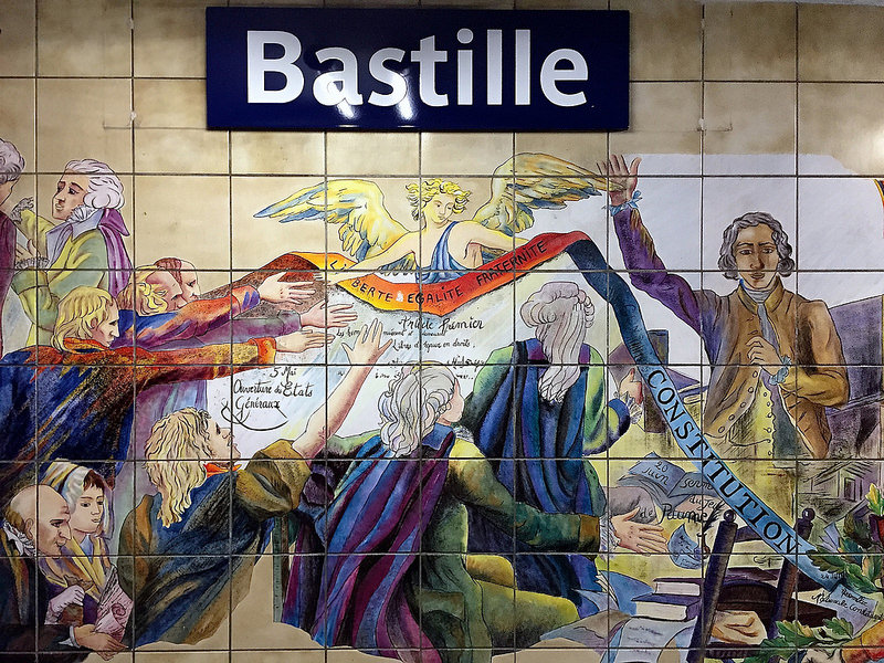 Bastille, best area to stay in Paris
