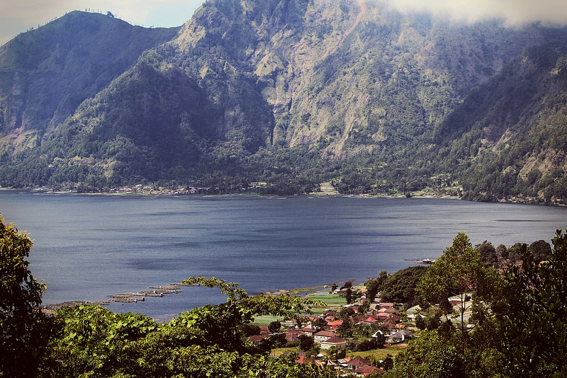 Batur Lake, best area to stay in Bali