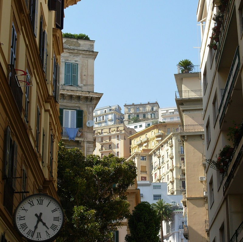Chiaia, best area to stay in Naples