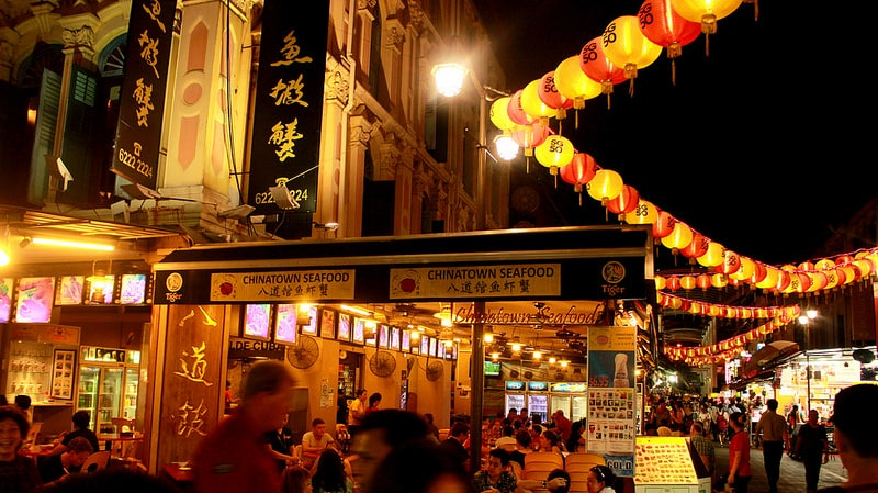 China town, best area to stay in Singapore
