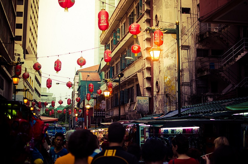 Chinatown, best area to stay in Kuala Lumpur