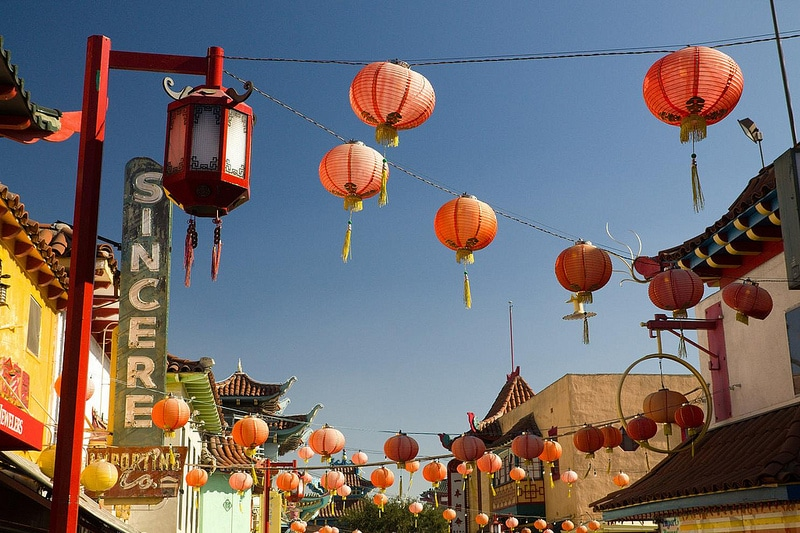Chinatown, best area to stay in Los Angeles