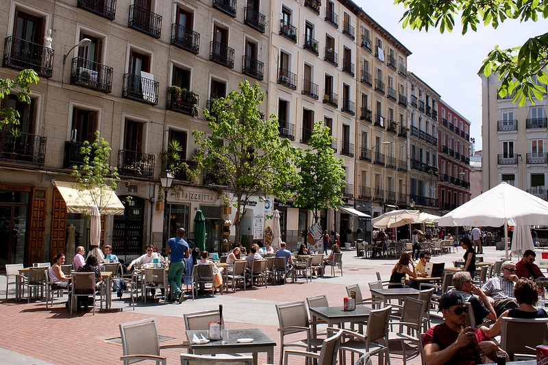 Chueca, best area to stay in Madrid