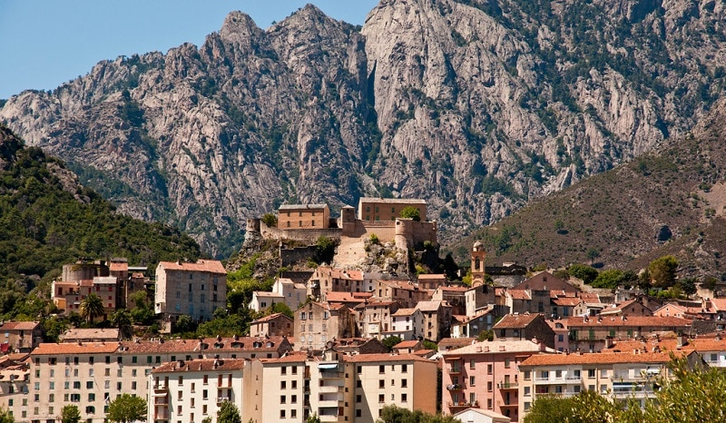 Corte, best area to stay in Corsica