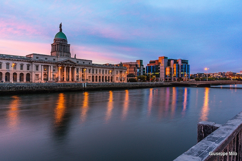 Docklands, best area to stay in Dublin