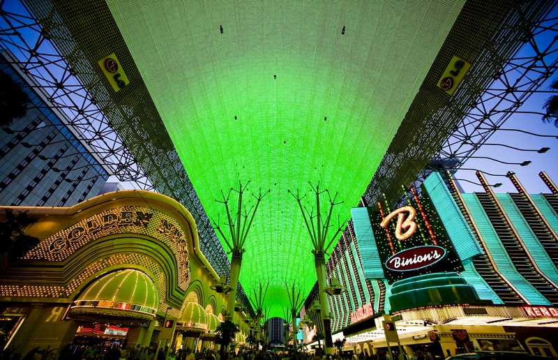 Downtown, best area to stay in Las Vegas