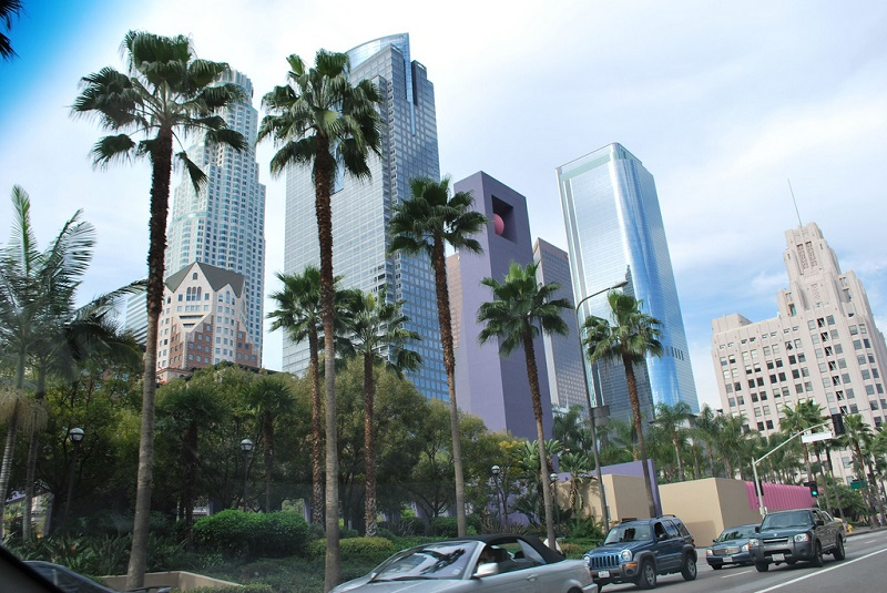 Downtown, best area to stay in Los Angeles