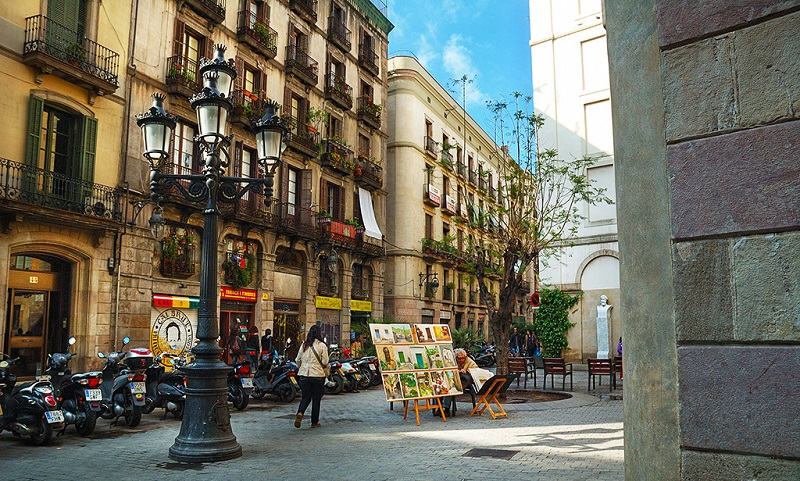 El Born, best area to stay in Barcelona