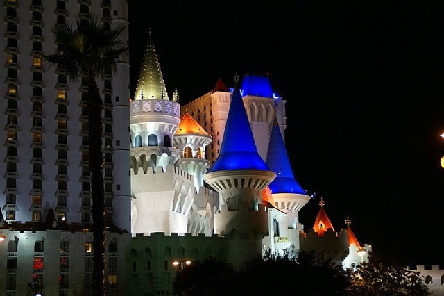 Excalibur Hotel, best things to do in Las Vegas